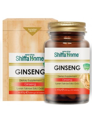 Shiffa Home Ginseng Kapsül 500 Mg 120 Tablet