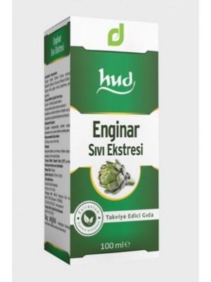 Destek Hud Enginar Sıvı Ekstresi 100 ml