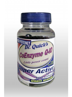 Dr. Quick's Coenzyme Q-10 High Potency 50 mg 100 Softjel