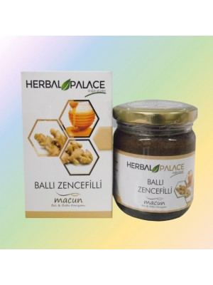 Herbal Palace Ballı Zencefilli Macun 230 GR