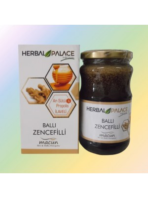 Herbal Palace Ballı Zencefilli Macun 430 GR