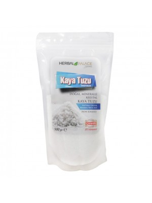 Herbal Palace Kaya Tuzu 500 GR ( Toz ) İyotsuz