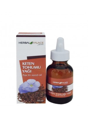 Herbal Palace Keten Tohumu Yağı ( Soğuk Press ) 50 ML