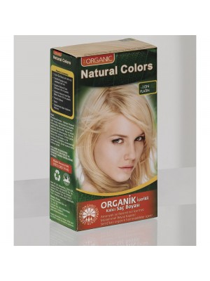 Natural Colors 10N Platin Organik Saç Boyası