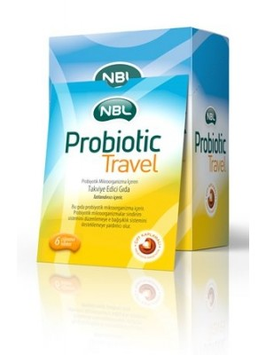 NBL Probiotic Travel 6 Çiğneme Tableti