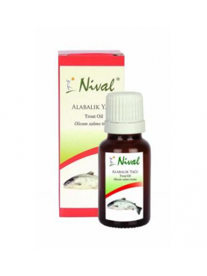 NIVAL ALABALIK YAĞI 20 ML