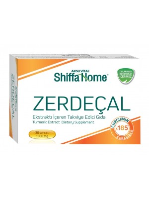 Shiffa Home Zerdeçal Ektraktı 30 Softgel