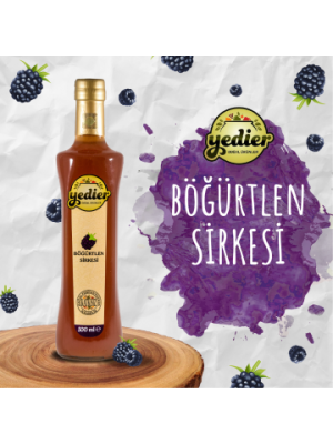 Yedier Böğürtlen Sirkesi 500 ml
