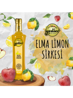 Yedier Elma Limon Sirkesi 500 ml
