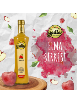 Yedier Elma Sirkesi 500 ml