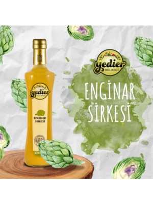 Yedier Enginar Sirkesi 500 ml