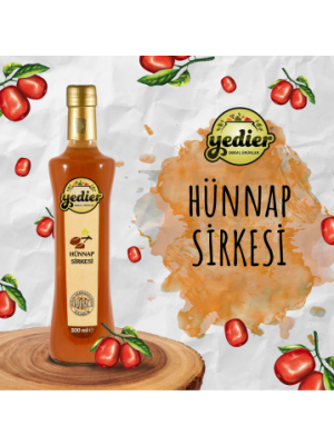 Yedier Hünnap Sirkesi 500 ml