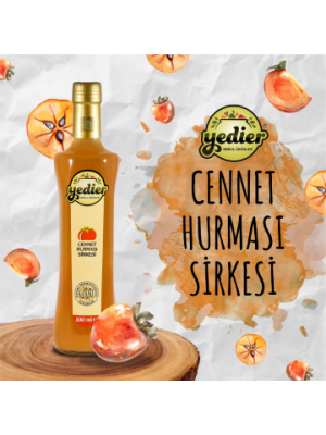 Yedier Hurma Sirkesi 500 ml