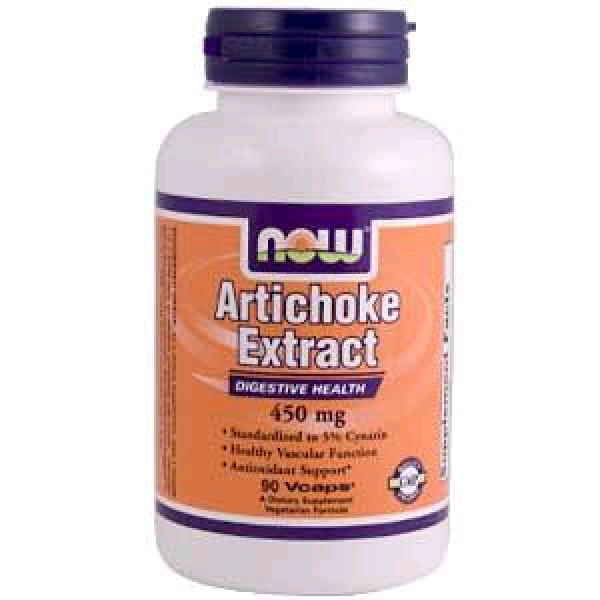 NOW Artichoke Extract (Enginar Hapı - Karaciğer Dostu) 450mg 90 Kapsül