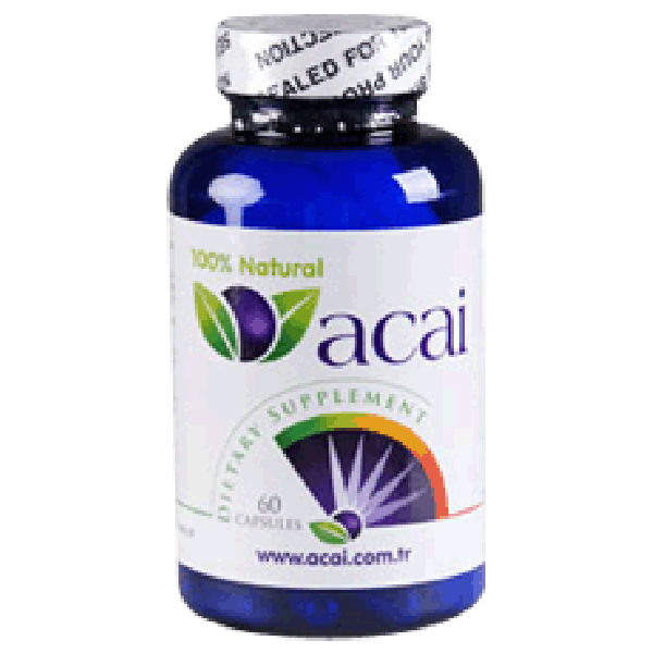 Acai Berry 500 mg 60 Kapsül