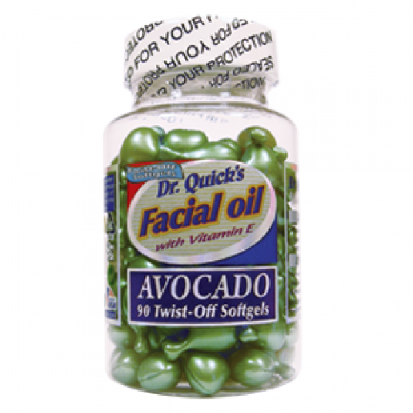 Dr. Quick's Facial Oil Avocado With Vitamin E
