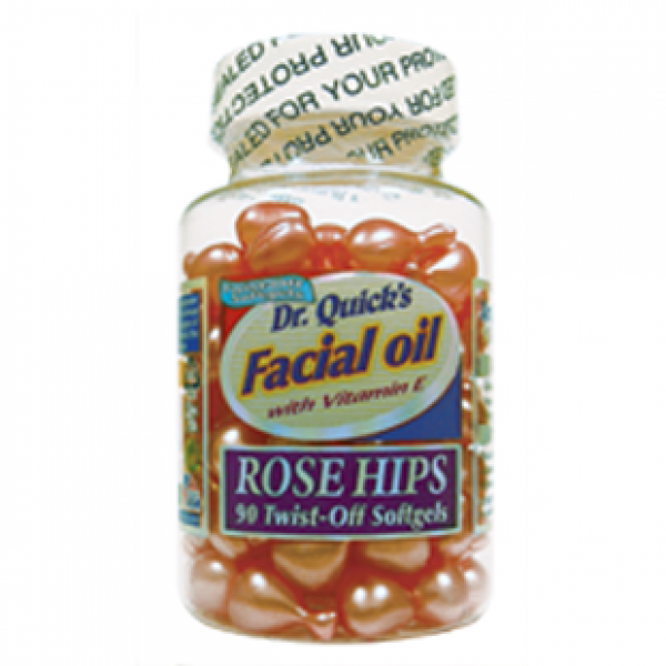 Dr. Quick's Facial Oil Rose Hips With Vitamin E