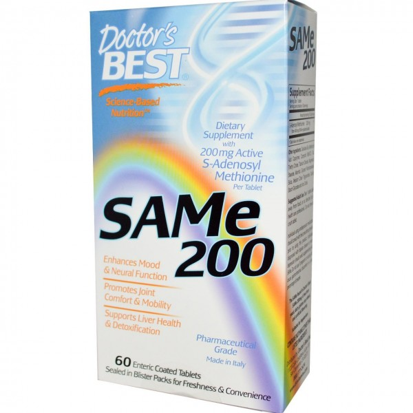 SAM e 200  200mg 20 Tablet
