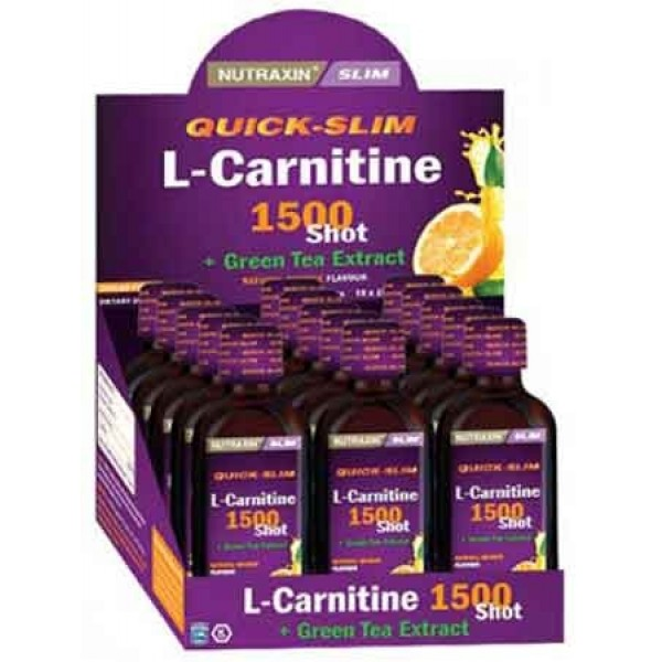 Nutraxin L-Carnitine 1500 Shot 15 Adet 25 ml