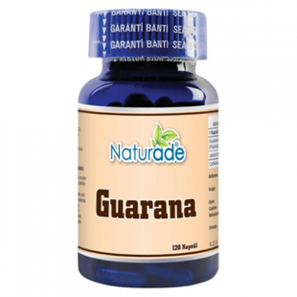 Naturade Guarana 380 mg 120 Kapsül