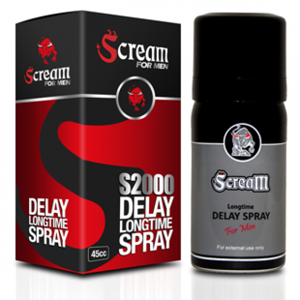 Scream Delay Spray