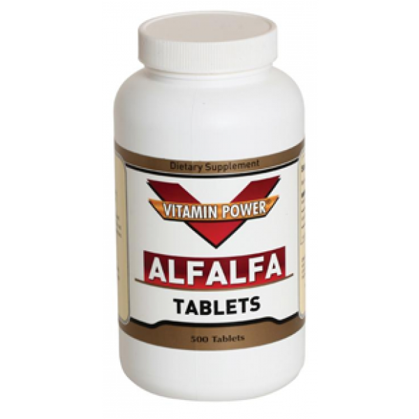 Vitamin Power Alfalfa 500 Tablet