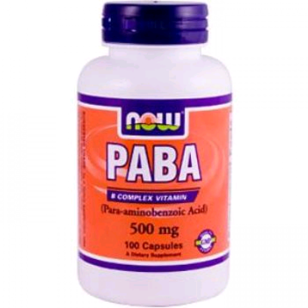 NOW  PABA - 500mg  100 Kapsül
